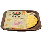 Aia Omlet con Prosciutto Cotto e Formaggio 0,180 Kg