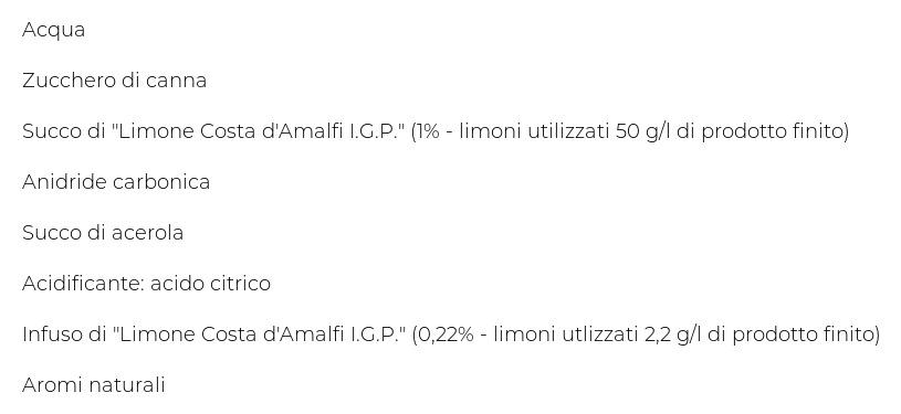 Lurisia La Nostra Gazzosa 4 x 275 Ml