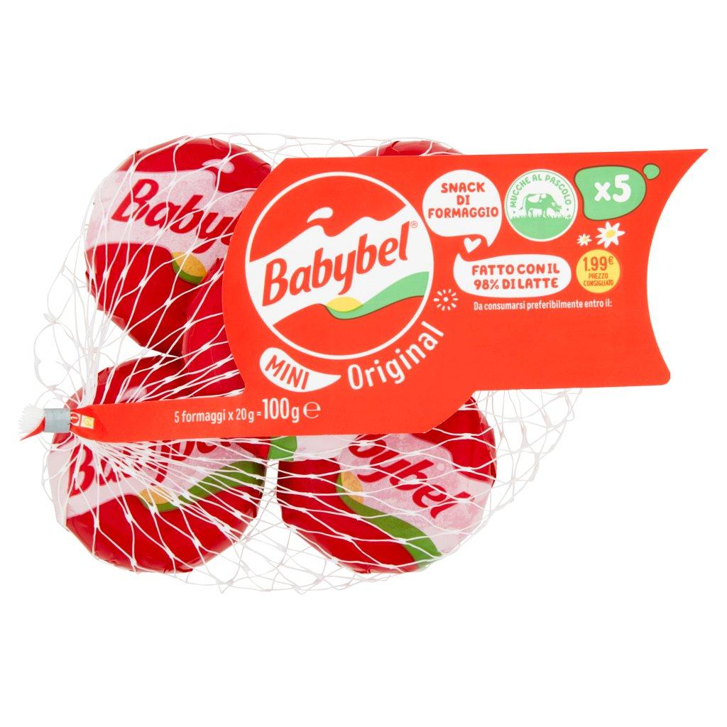 Babybel Original Mini 5 x 20 g