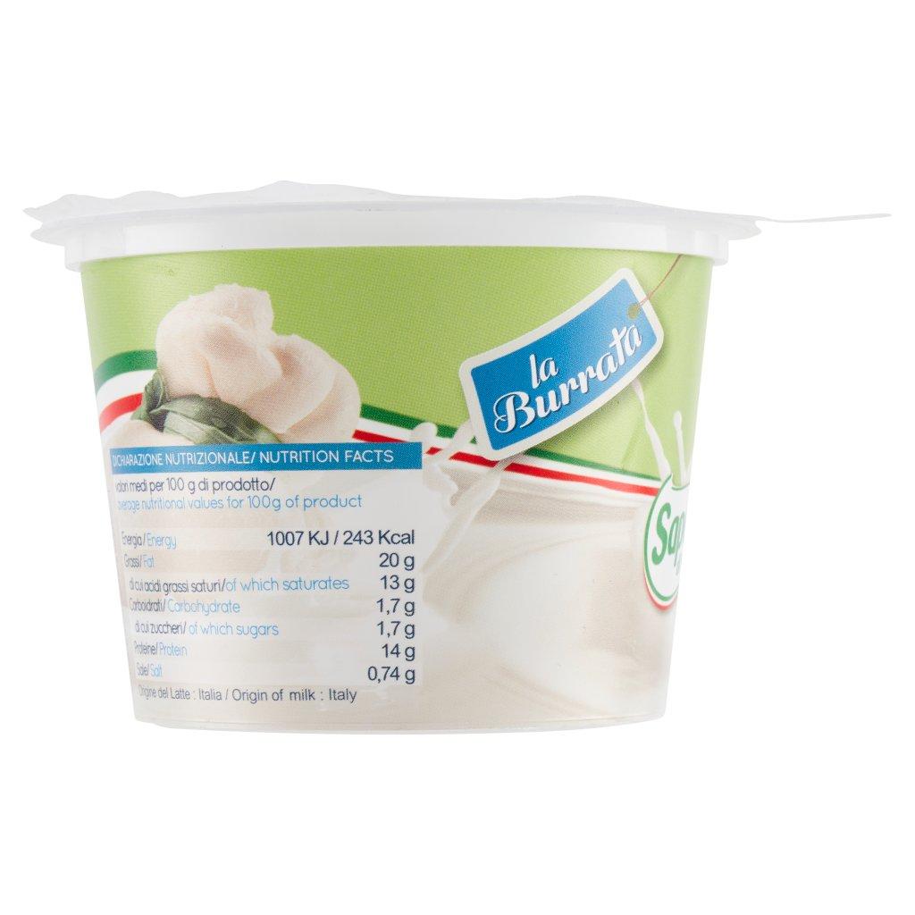 Saporosa di Puglia La Burrata 125 g
