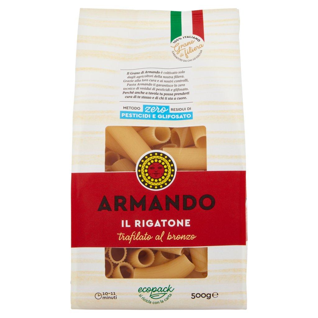 Armando Metodo Zero Residui di Pesticidi e Glifosato il Rigatone