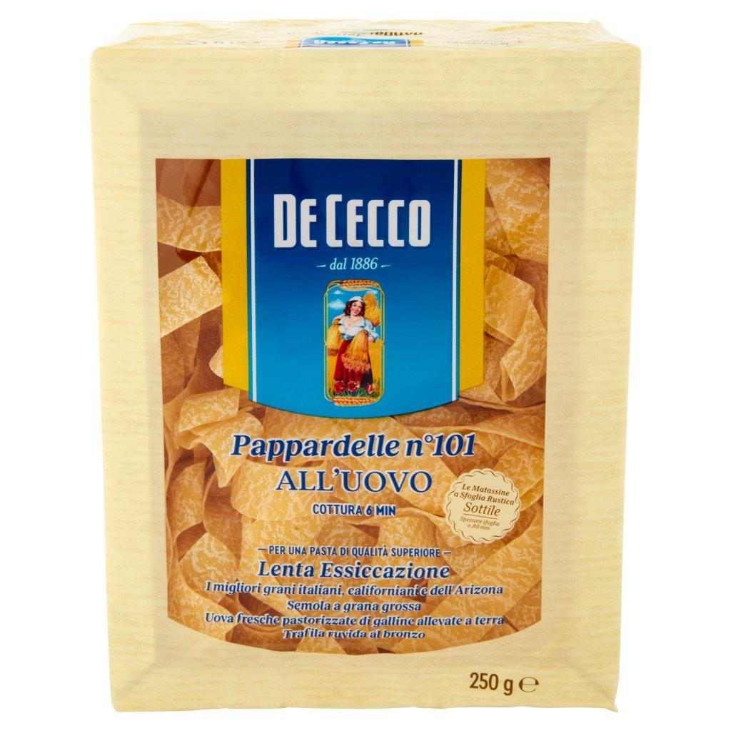 De Cecco Pappardelle N° 101 all'Uovo