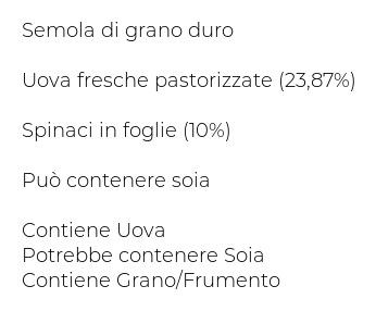 De Cecco Tagliatelle N° 107 all'Uovo con Spinaci