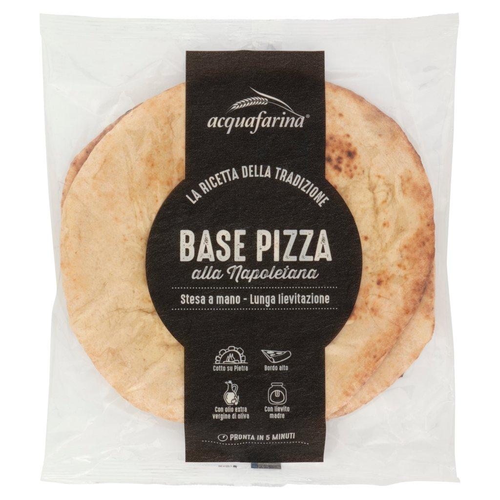 Acquafarina Base Pizza alla Napoletana 2 x 150 g
