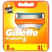 Gillette Fusion5 Ostrza Wymienne Do Maszynki Do Golenia x 8