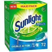 Sunlight All In 1 Tabletki Do Zmywarki  (72 Sztuki)