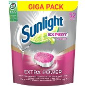 Sunlight Expert Extra Power Tabletki Do Zmywarki  (52 Sztuki)