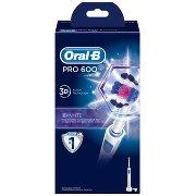 Oral-b Pro 600 3d White Szczoteczka Elektryczna Do Zębów Stworzona w Technologii Braun