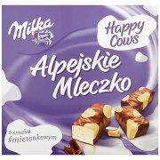 Milka Alpejskie Mleczko Pianka o Smaku Śmietankowym Happy Cows