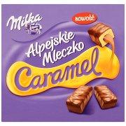 Milka Alpejskie Mleczko Caramel Pianka o Smaku Waniliowym z Nadzieniem Karmelowym