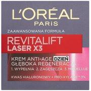 L'oreal Paris Revitalift Laser X3 Krem Przeciwzmarszczkowy Anti-age Głęboka Regeneracja Dzień
