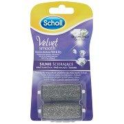 Scholl Velvet Smooth Wet&dry Silnie Ścierające Głowice Obrotowe z Kryształkami Diamentów