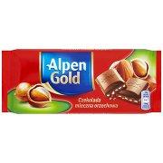 Alpen Gold Czekolada Mleczna Orzechowa