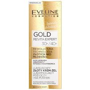 Eveline Cosmetics Gold Revita  Expert Luksusowy Złoty Krem-żel Ujędrniający Pod Oczy i Na Powieki 30+/40+