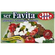 Mlekovita Favita Ser Sałatkowo-kanapkowy Półtłusty