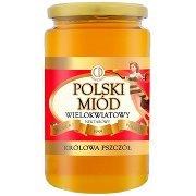 Królowa Pszczół Polski Miód Wielokwiatowy Nektarowy