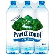 Żywiec Zdrój Niegazowana Woda Źródlana 6x1,5l