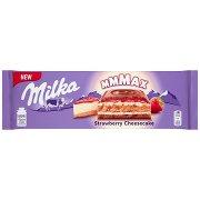 Milka Mmmax Herbatnik w Czekoladzie Mlecznej Strawberry Cheesecake