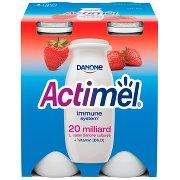 Actimel Mleko Fermentowane o Smaku Truskawkowym 400 g (4 x )