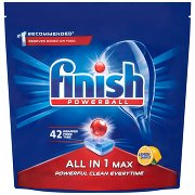 Finish All In 1 Max Lemon Tabletki Do Mycia Naczyń w Zmywarce 42 Szt.