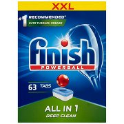 Finish All In 1 Tabletki Do Mycia Naczyń w Zmywarce  (63 Sztuki)