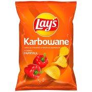 Lay's Chipsy Ziemniaczane Karbowane o Smaku Papryka