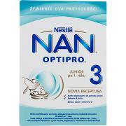 Nestlé Optipro 3 Mleko Modyfikowane w Proszku Dla Dzieci Po 1. Roku 2x400g